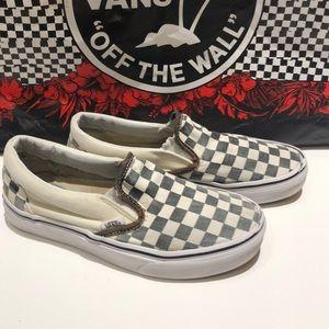 Vans Checkered Women's Sneakers Size 6
